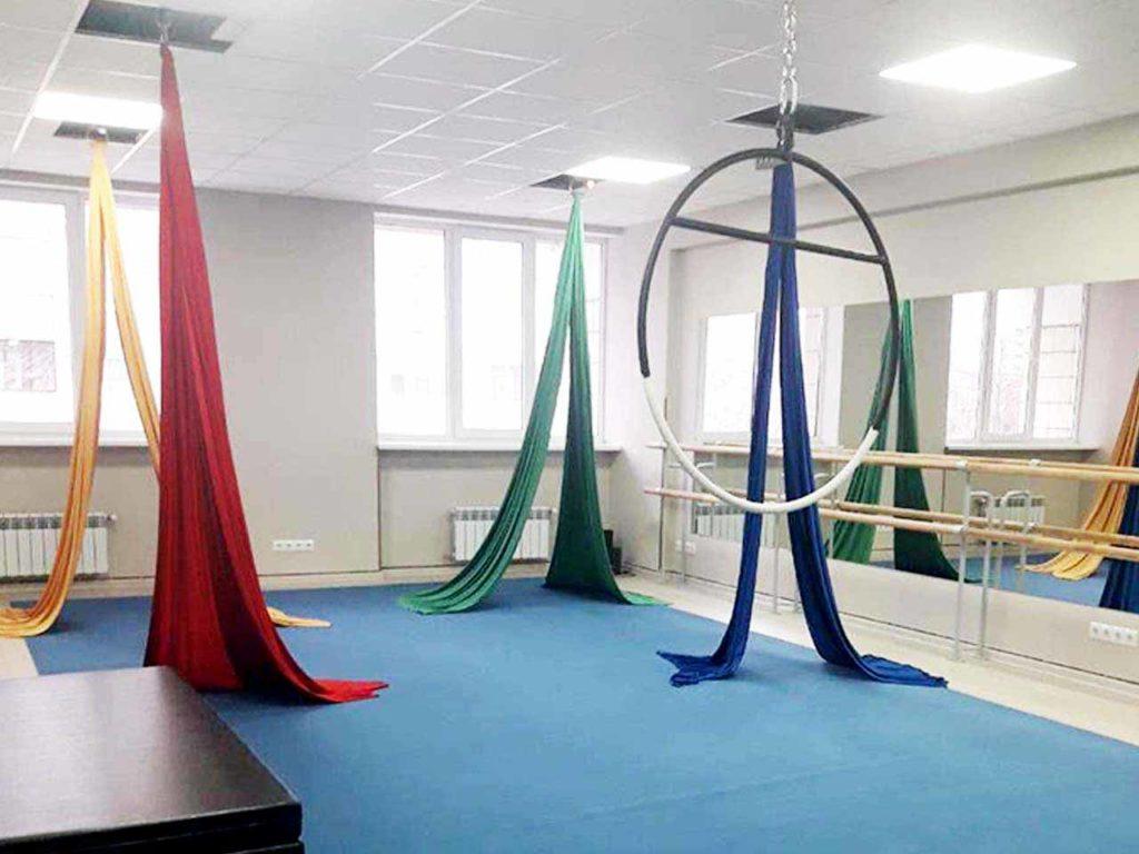 залы для акробатики и гимнастики